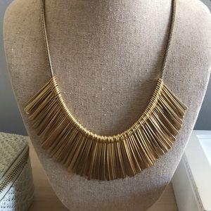 Stella & Dot Essential Fringe Necklace-gold